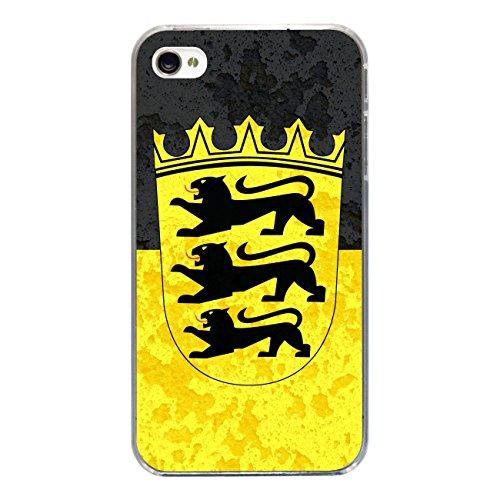 "Disagu Design Case Schutzhülle für Apple iPhone 4s Hülle Cover - Motiv ""Baden-Würtemberg"""
