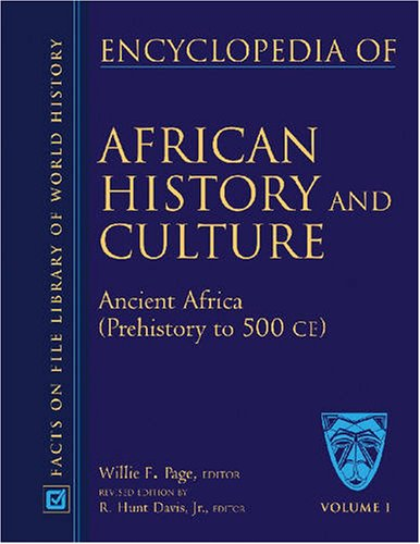 Encyclopedia Of African History And Culture, 5 Vol. Set