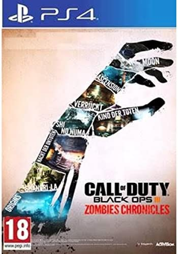 Call Of Duty Black Ops 3 Zombie Chronicles HD Edition (PS4) UK ...