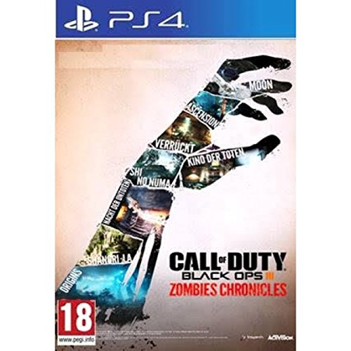 Call Of Duty Black Ops 3 Zombie Chronicles HD Edition (PS4) UK IMPORT REGION FREE (Call Of Duty Modern Warfare Remastered Ps4 Uk)