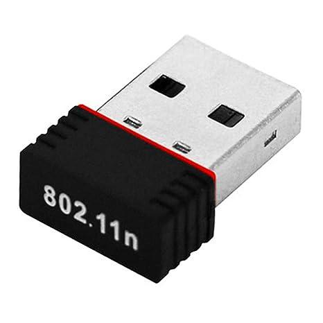 merkmak adaptador de red inalámbrica de 150 Mbps 150 M USB 2.0 WiFi tarjeta red 802.11 b/g/n 2.4 GHz LAN Adapter