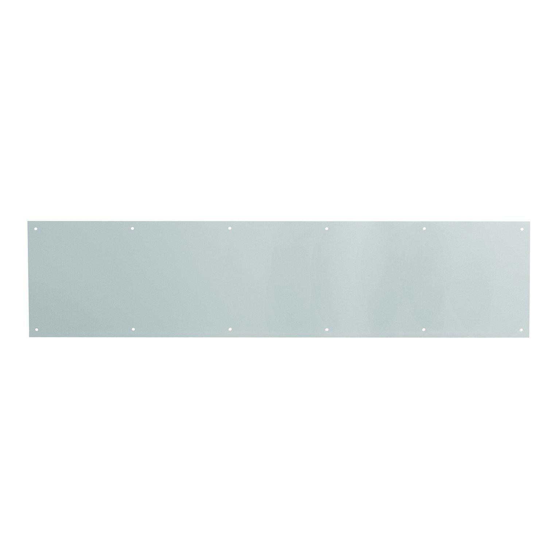 Prime-Line MP4616J Door Kick Plate, 8 x 34-Inch, Satin Aluminum, Pack of 1