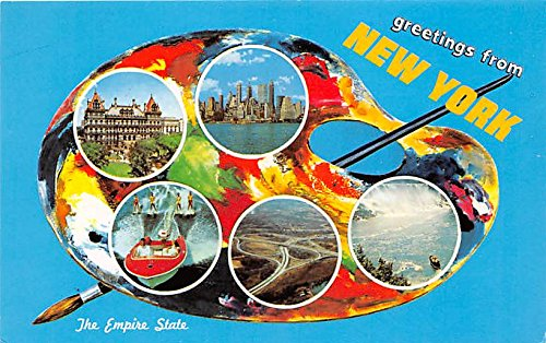 Greetings from, New York Postcard from Old Postcards