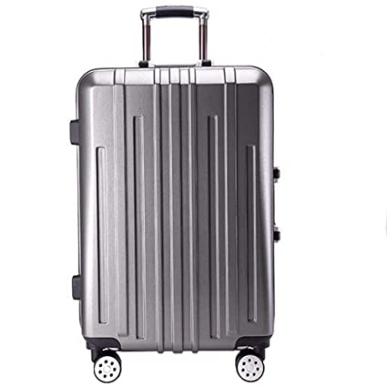 9d88db7cd BOHENG Boarding Trolley case, Business Alloy Aluminum Frame Trolley case,  Universal Wheel Trolley case