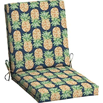 Amazon Com Mainstays Outdoor Patio Dining Chair Cushion