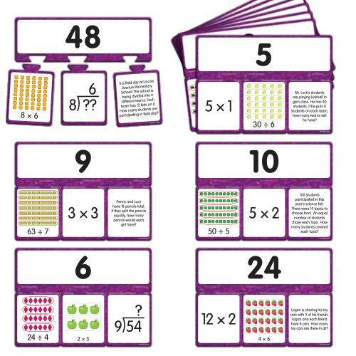 EAI Education Snap Math - Multiplication & Division Puzzle: Grades (Multiplication Math Puzzles)
