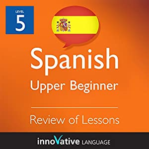 Review of Upper Beginner Lessons (Spanish) Audiobook