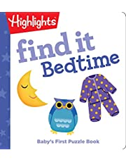 Find it Bedtime: Baby's First Puzzle Book