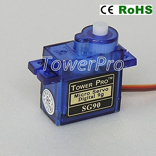 (American Robotic Supply Authentic Tower Pro SG90 Digital Servo - 2 Pack)