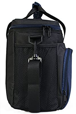 """Insulated Lunch Bag S1/S2: InsigniaX Cool Back to School Lunch Box/Cooler/Lunchbox for Adult Women Men Work School Kids Girls Boys With Strap Bottle Holder H: 10"""" x W: 5.1"""" x L: 9.2"""""""