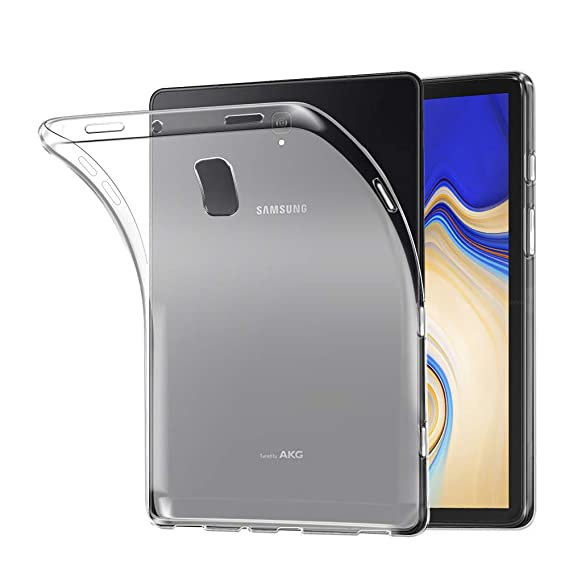 newest dddee 21281 AVIDET Samsung Galaxy Tab S4 Case,Soft Thin Anti-scratches Cover for  Samsung Galaxy Tab S4 10.5 inch SM-T830/T835 Tablet (Transparent White)