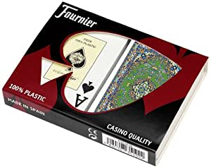 Fournier Alfombras Bridge Size Jumbo Index Playing Cards