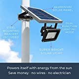 Solar Outdoor Flood Light by WONDERLUX. Included