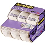 Scotch Gift Wrap Tape, 3/4 x 300 Inches, 3 Pack (311)