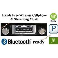Bluetooth Enabled 1969-1972 Chevelle - El Camino USA-630 II High Power 300 watt AM FM Car Stereo/Radio