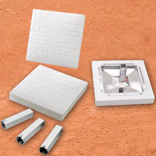 Major League Bases:   Set of 3 w/o Ground Anchors by MacGregor