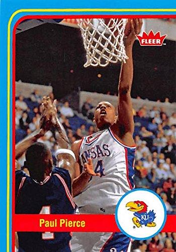 Paul Pierce Basketball Card (Kansas Jayhawks) 2013 Fleer Retro #8