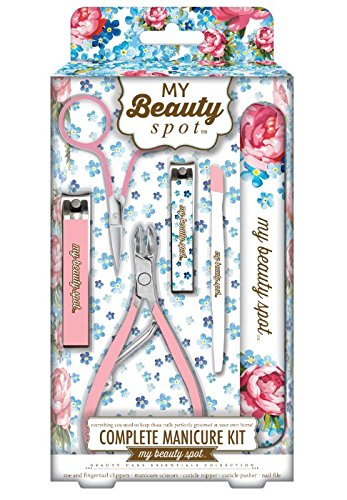 977b0493b06 Amazon.com   My Beauty Spot Complete Pink Manicure Kit- 6 total items in kit    Beauty