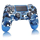 AUGEX Camo Blue PS4 Controller Compatible with
