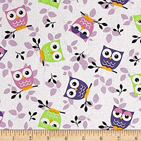 New Yellow with Tossed Butterflies 100/% cotton fabric by the 1//4 yard