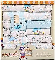 BELUPAID 15 Piece Baby Unisex Newborn Basic Essentials Gift Layette Set,Playwear Bundle Take Me Home Layette G