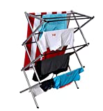 Magna Homewares Accordion Basic Cloth Drying Stand