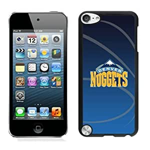 New Custom Design Cover Case For iPod Touch 5th Generation Denver Nuggets 11 Black Phone Case