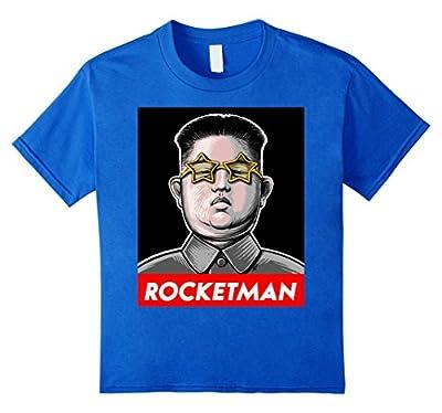 Trump Rocket Man Kim Jong Un North Korea Funny Nuke Shirt
