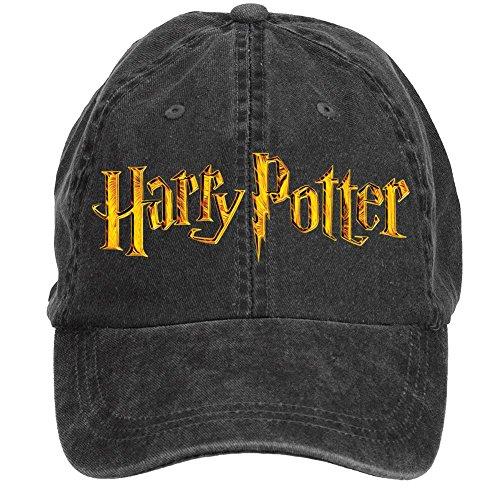 Jidlg-Custom-Men-Cotton-Harry-Potter-Symbol-Letter-Adjustable-Baseball-Cap