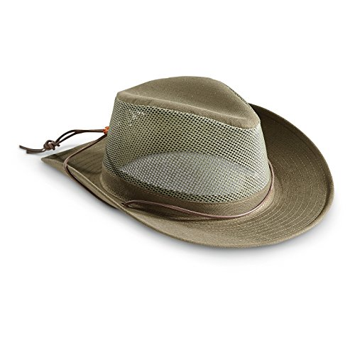 Henschel Breezer Hat with Coolmax Band, Olive, ()