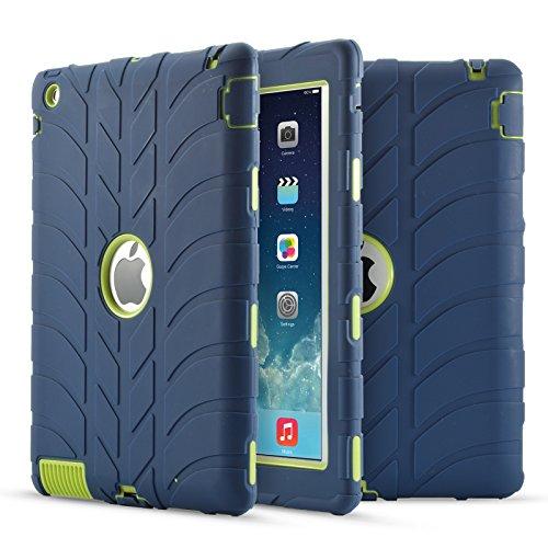 iPad 2 iPad 3 iPad 4 Case- LittleMax Silicone Shockproof ...
