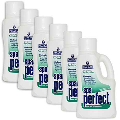 Natural Chemistry Spa Perfect - 6 x 2 Liters by Natural Chemistry