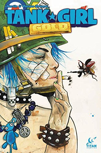 Tank Girl Gold #1 Cover D