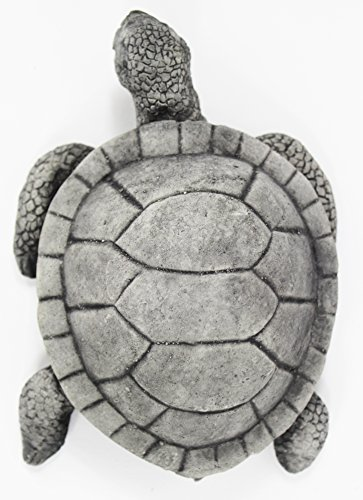 (Swimming Turtle Concrete Garden Statue Cement Turtles Figure Cast Stone Outdoor Amphibian Statuary)