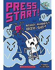 Robo-Rabbit Boy, Go!: A Branches Book (Press Start! #7)