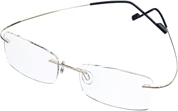 f29a83e152d0 Bi Tao Super Light Titanium Bi-focal lens Bifocals Reading Glasses 1.75 Men Women  Fashion