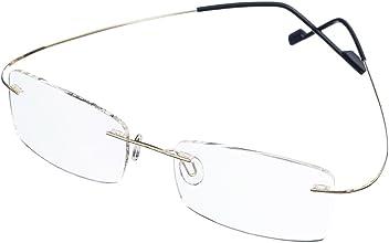 417c53dc8ed Bi Tao Super Light Titanium Bi-focal lens Bifocals Reading Glasses 1.75 Men  Women Fashion