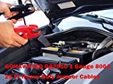 Heavy Duty Booster Jumper Cable1 Gauge x 25 Ft. x