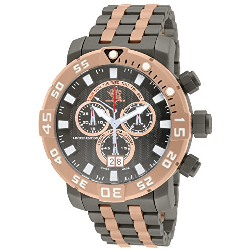 Invicta 53mm Sea Base Swiss Made Chronograph Titanium Bracelet 14261 (Invicta 53mm Watch)