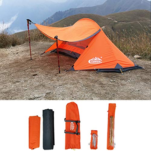 camppal Professional 1 Person Extreme Space Saving Single Bracket Tent