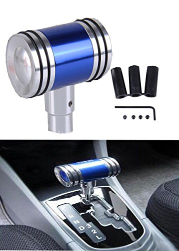 WYYINLI Universal Manual Automatic Transmission Shift Knob T-Handle Refited Shift Knob Head with Adapter (Blue)