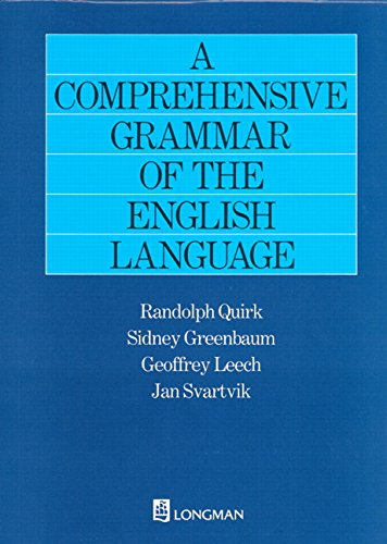 Comprehensive Grammar of the English Language (General Grammar)