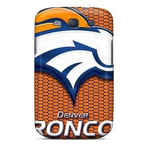 LauraAdamicska Samsung Galaxy S3 Durable Hard Cell-phone Cases Support Personal Customs High Resolution Denver Broncos Skin [eHx6542XSwQ]