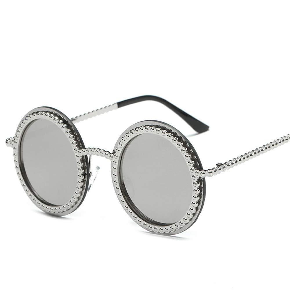 SK&2SOK Gafas Sol,Gafas De Sol Redondas Con Lentes De Color ...