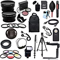 Pentax K-5 K-5 ii K-30 Digital SLR Deluxe Camera Accessory Bundle