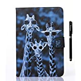 inShang T350 Case for Samsung Galaxy TAB A 8.0 Inch T 350, With Color Painting Pattern, Stand Cover+1pc High end class business stylus Pen