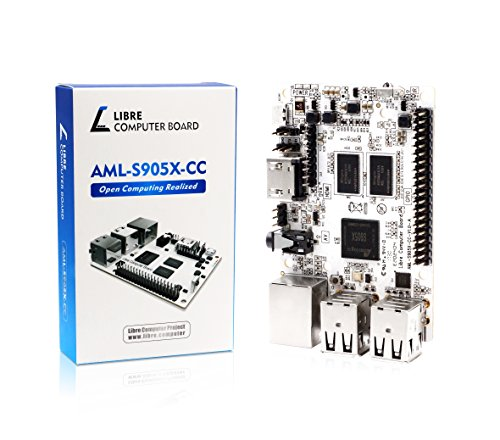 Libre Computer Board AML-S905X-CC (Le Potato) 2GB 64-bit 4K Media Mini Computer