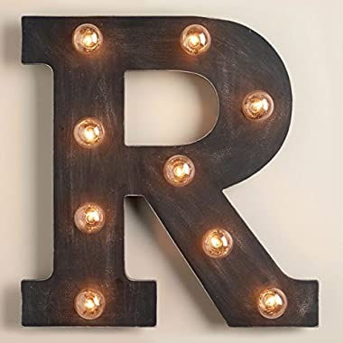 16  Marquee Letter  R