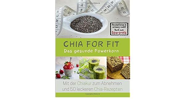 Chia for FIT Rezeptfotos in schwarz-weiß Buch zum Sparpreis : Das ...