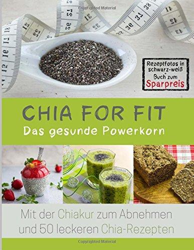 Chia for FIT Rezeptfotos in schwarz-weiß Buch zum Sparpreis ...